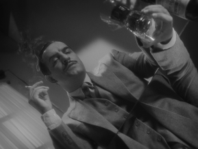 The Artist Valentin tries to drink away the pain
