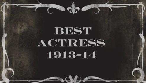 BEST ACTRESS13-14